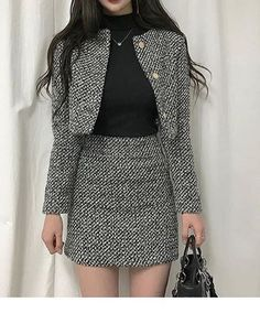 Korean Fashion Trends you can Steal – Designer Fashion Tips Ulzzang Fashion, Kpop Fashion, Asian Fashion, Womens Fashion, Cute Casual Outfits, Stylish Outfits, Girl Outfits, Mode Rockabilly, Mode Costume