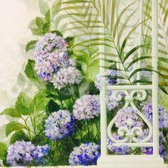 Roberta Dori Puddu   Trompe l'oeil, Giardino Incantato- work in progress rdpstudio@gmail.com