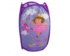 Disney Character POP-UP BIN Bedroom Tidy - Dora P. Ideal for Bedroom Storage, Laundry, Toys just at £4.99 #disney #character @Widdle Gifts