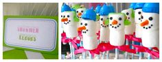 .Oh Sugar Events: Winter Candy Land Dessert Table