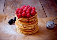 Buttermilk and raspberry pancakes!  Nothing like starting the day with a stack of fluffy pancakes!  Have a great sunday!  #breakfast #pancakes #coffee #delicious #homemade #foodblogger #feedfeed #f52grams #beautifulcuisines @beautifulcuisines #hautecuisines @hautescuisines #gloobyfood @food_glooby #heresmyfood @food #yahoofood #huffposttaste #buzzfeedfood #instafood #foodstagram #foodphotography #kitchenbowl #inthekitchen #thekitchn #onthetable #baking #sunday #sundayfunday #raspberry