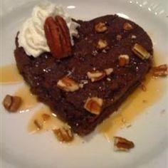 Caramel Brownie Hearts Allrecipes.com