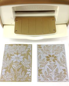 Holiday Metallic Layers Embossing Techniques | Anna's Blog