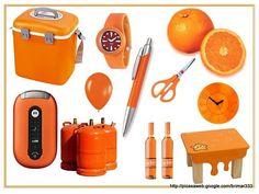 Colores - Naranja