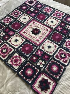 My demelza blanket designed by Catherine Bligh.