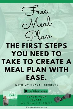 If you're ready to see results on the keto diet without all the fuss then you need to create a meal plan. I show you how to make a ketosis inducing meal plan, so you can see the results you're craving. (And I tell you all my keto coach secrets!!!) Click the link to learn how! Keto Flu Symptoms, Lose Weight, Weight Loss, Free Meal Plans, Keto Transformation, Keto Diet For Beginners, Keto Meal Plan, Health Goals, Ketogenic Diet