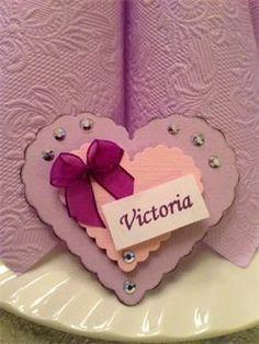 Hjerte bordkort til konfirmanten,hjerte,konfirmasjon,dåp,barnedåp