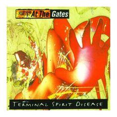 "L'album degli #AtTheGates intitolato ""Terminal Spirit Disease"" su vinile."