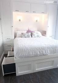 Bilderesultat for closet over bed