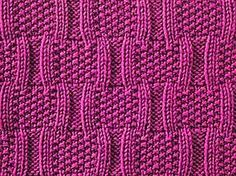 Knitting Galore: Saturday Stitch: Bracket Stitch