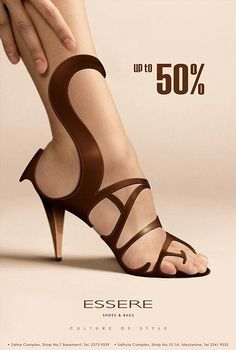 Design | Sale Ad by caprozo911 via deviantart // #shoe #typography #advertising