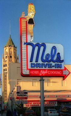The original, historic, Mel's Drive-in, LA