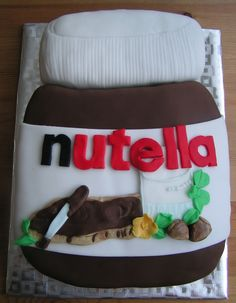 Nutella Cake. Why does everyone like Nutella? To be honest I hate it.....