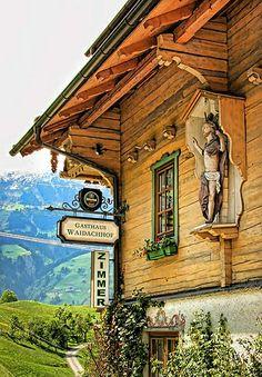 Gasthaus Waidachhof, Zillertal, Tyrol, Austria