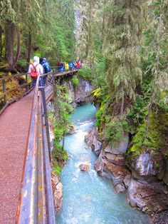 Johnston Canyon, Banff, Canada More