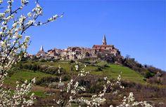 Buje in Istria, Croatia. http://blog.gala-yachting.com/istria-magic-land/