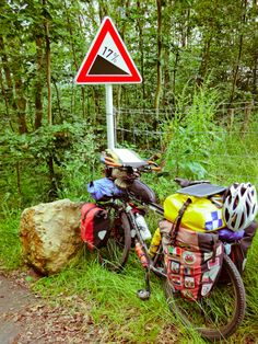 Fully loaded cycle touring with a Thorn Sherpa