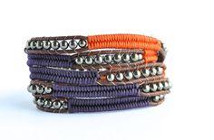 Herringbone Wrap bracelet Chan Luu style Chan Luu by ShopKeya