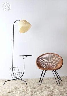 Lampadaire/lampe vintage années 50/60 Ameublement Paris - leboncoin.fr