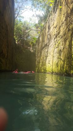 Under water river xcaret