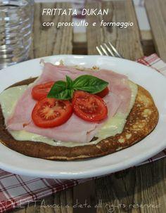 Frittata Dukan con prosciutto e formaggio | DILETTiAmoci a dieta