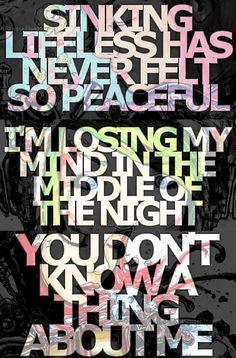 Ghost Town lyrics. Songs in order from top: Tentacles; Monster; Game Freak