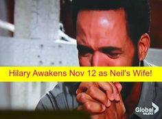 The Young and the Restless (Y&R) Spoilers: Hilary Wakes Up November 12 - Think's She's Neil's Wife!