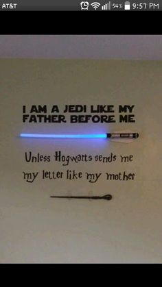 This would be fun for a baby reveal! A lightsaber for a boy or a wand/hogwarts letter for a girl! ❤