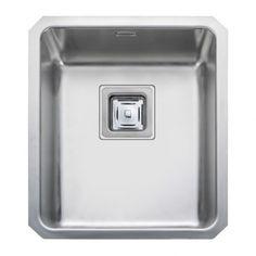 Rangemaster Atlantic Quad 34 1.0 Bowl Sink