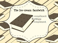 "Students can use the ""ice-cream sandwich"" to evaluate the musical performances of others - builds ciritcal listening skills"