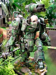 Alaric Blog - Nurgle knight 1