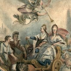 Allegory of Louis XVI and Marie Antoinette, 1775