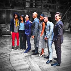 Patrick Vassel (@PDV) | Twitter | 7 actors from one show nominated for Tonys is a first.