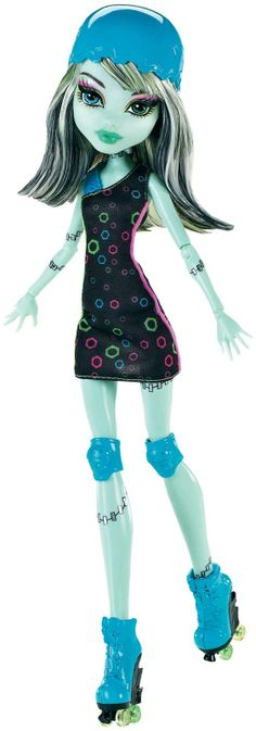 Frankie Stein Skulltimate Roller Maze Mattel Monster High doll