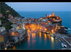 In my opinion, the most beautiful place in Italy...Vernazza (part of Cinque Terre)