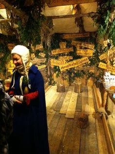 Medieval games at Esslingen Medieval Christmas Market in Germany