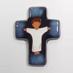 Wandkreuz-Keramik-m-Kind-10-5-x-8-cm