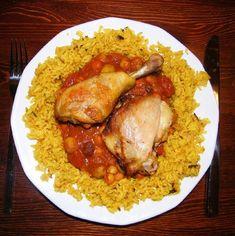 Marokkói csirke Meat Recipes, Food, Essen, Meals, Yemek, Eten