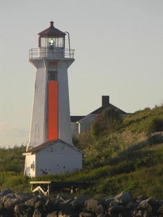 ✮ George's Island Lighthouse in Halifax Harbour, Nova Scotia