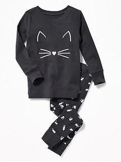 Old Navy Cat-Graphic Sleep Set for Toddler & Baby Baby Boy Fashion, Toddler Fashion, Kids Fashion, Fashion Clothes, Fashion Outfits, Fashion 2016, Latest Fashion, Fashion Shoes, Fashion Trends
