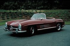 1957 Mercedes-Benz Roadster by Pinky and the Brain Mercedes Sport, Mercedes Benz Maybach, Convertible, Daimler Benz, Auto Retro, Classic Mercedes, Cabriolet, Unique Cars, Luxury Cars