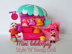 Lalaloopsy Minis™ Style 'n Swap™ Dolls {Review}