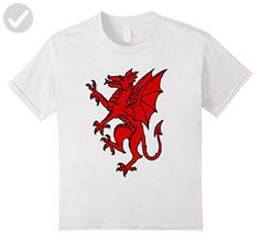 b4f4b1644 Kids Red Griffin Mythical Magical Creature T-Shirt 12 White - Cool and  funny shirts