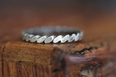 ON SALE With a Twist Too: Stacking Ring by MossyCreekStudio
