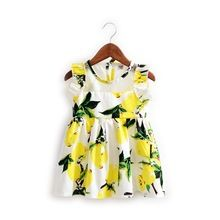 2016 Summer Baby Girl Toddler Lace Clothing Dress For Infant Floral Princess Dress Plaid Children's Dresses kids Clothing(China (Mainland))