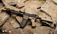 bravocompanyusa: BCM with BFH Barrel. Also features: Haley… Bcm Rifles, Battle Rifle, Hunting Guns, Assault Rifle, Airsoft Guns, Tactical Gear, Tactical Firearms, Guns And Ammo, Hand Guns