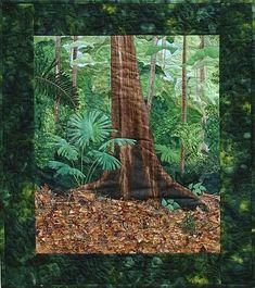 Landscape Quilts on Pinterest Landscape Quilt Fabric