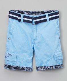 Blue Coast Tropical Cargo Shorts - Toddler & Boys