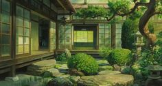 japanese house anime - Поиск в Google