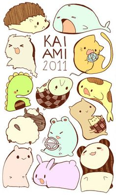 Animal Stickers from Kaiami on Storenvy